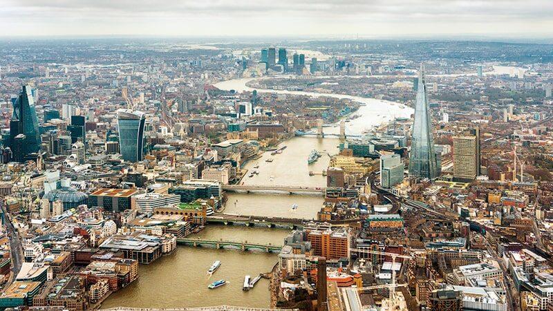 London, United Kingdom, Now
