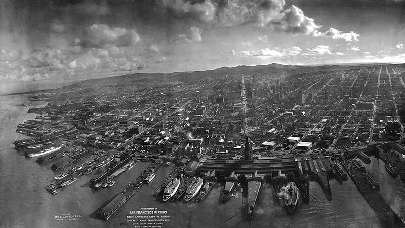 San Francisco, USA, 1906