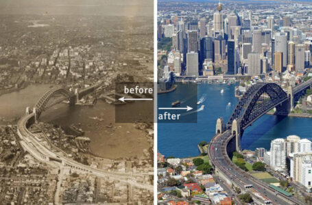 25 Famous Cities' Pictures Showing How They Changed Over Time