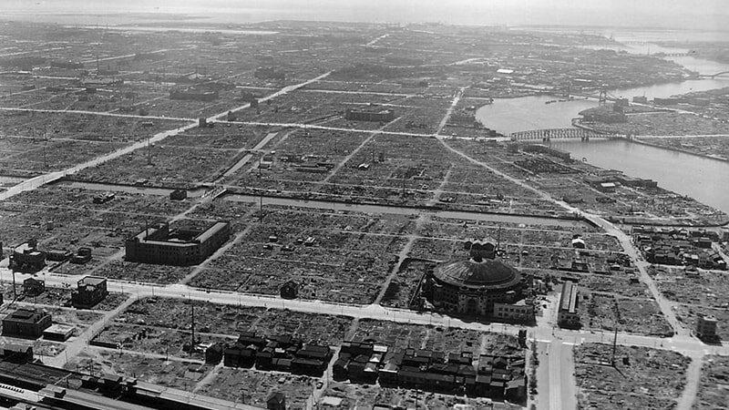 Tokyo City 1945 Year