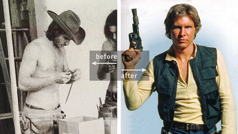 Harrison Ford was a Carpenter