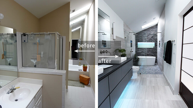 11 Bathroom Remodel Before and After Pictures & Ideas for Your Inspiration