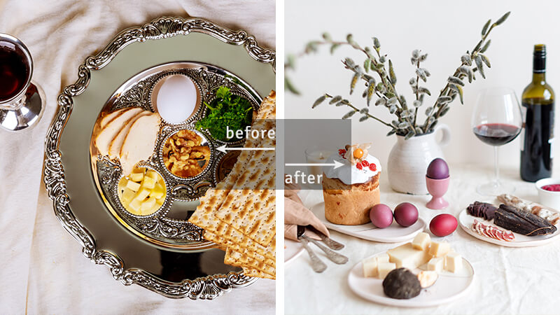 Passover / Easter table