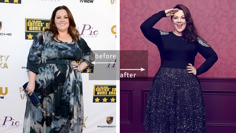 Melissa McCarthy Weight Loss - Before & After