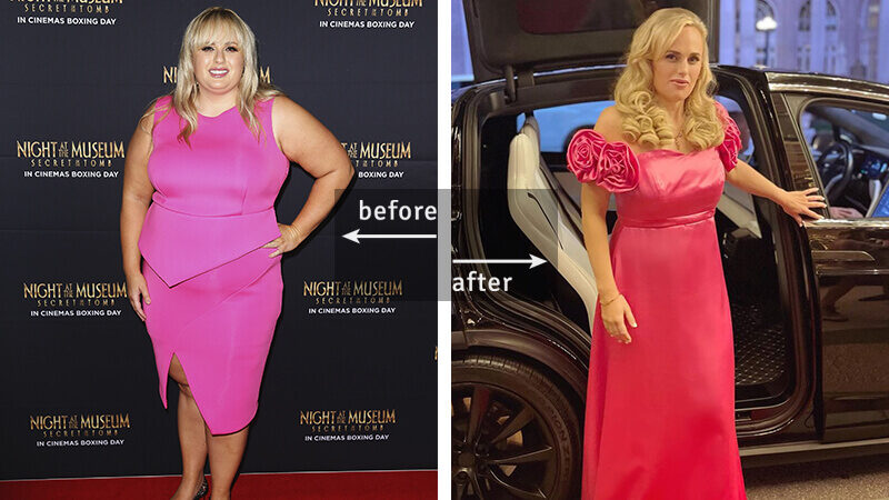 Rebel Wilson Weight Loss - Before & After